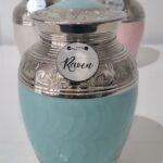 Blue Nickel Urn