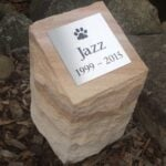 Outdoor Pet Urn ROCK FACE (9)