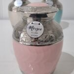 Pink Nickel Urn