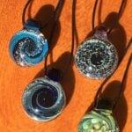 Glass pendants