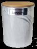 Ceramic Urn with sticker