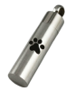 Pet paw cylinder necklace